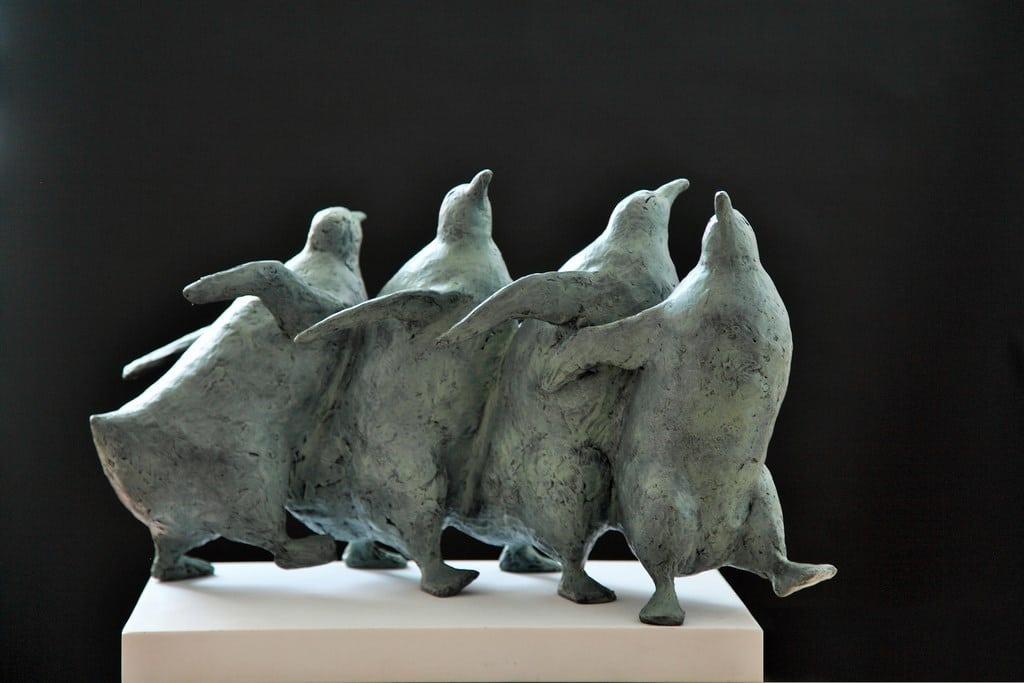 Pinguïns groot - Noor Brandt