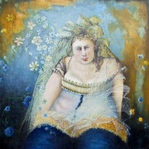 Meisje met sluier - Joke Rijneveen