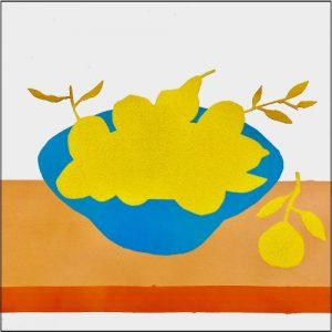 Recomposed Stilleven met citroenen en sinaasappels - Rob van Es