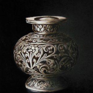 Zilveren vaas - Jan Teunissen