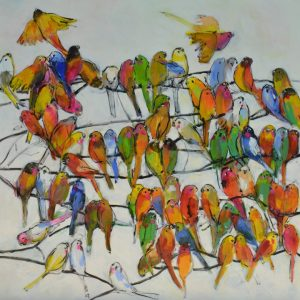Parakeets - Janet Timmerije