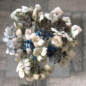 Bloemstilleven met gedroogde hortensia - Jacques Splint