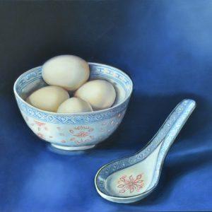 Eieren in Chinese kom - Bets van Boxel