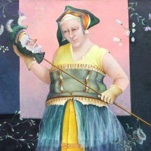 Vrouw met nar - Joke Rijneveen