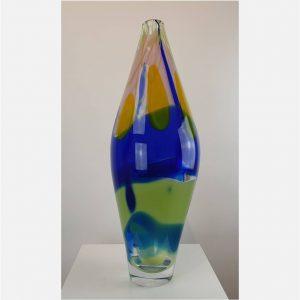 Multicolor vase - Lia Koster