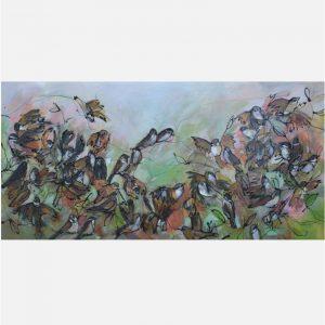 Sparrows - Janet Timmerije