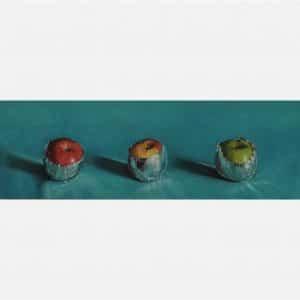 Appels in aluminiumfolie - Bets van Boxel