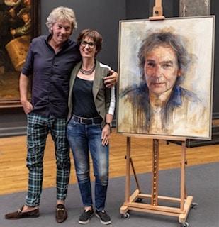 Masterclass portret schilderen door Mieke Robben