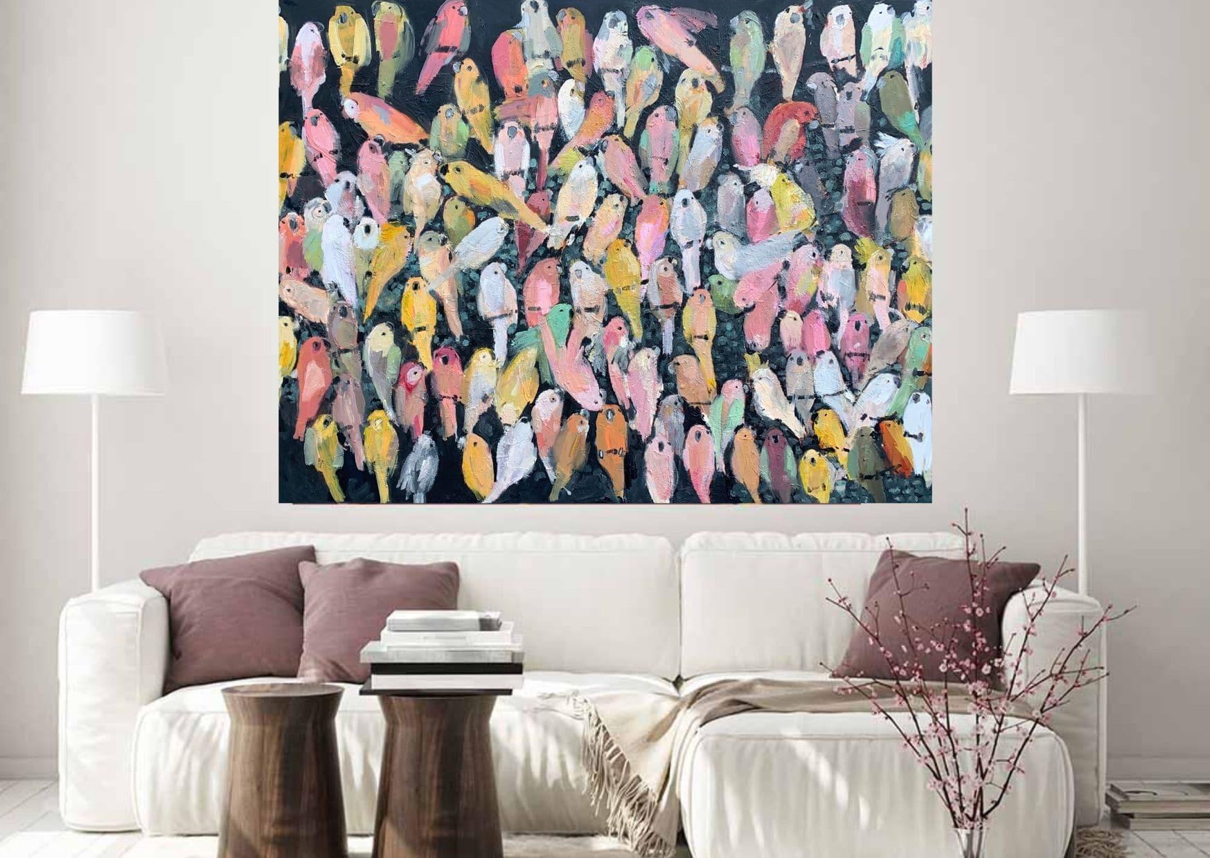 Grote schilderijen