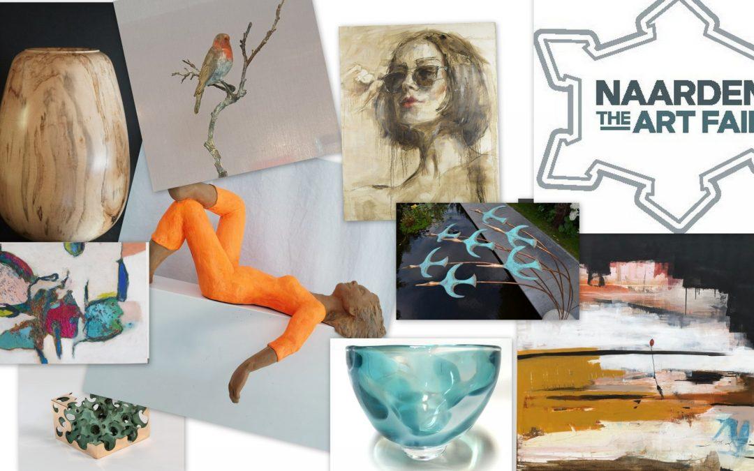 Naarden The Art Fair 2022 podium voor Galerie De Ruimte